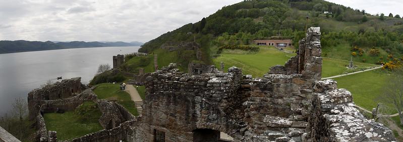 Urquhart Castle Panorama