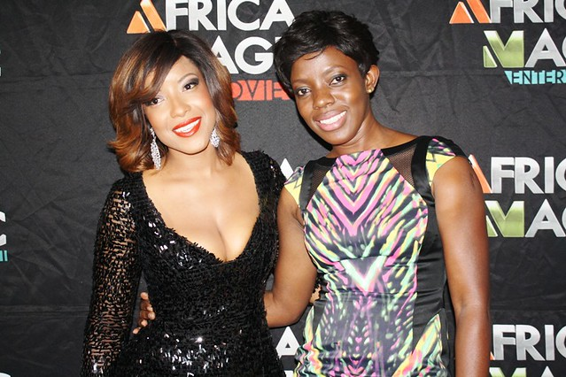 Joselyn Dumas and Shirley Frimpong-Manso