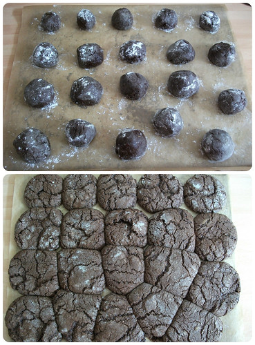 Crinkly Chocolate Cookies 4