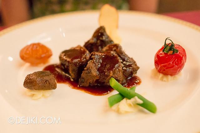 Tokyo DisneySea - Mediterranean Harbor / Magellan's / Main Course, Beef