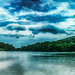 Panorama of Peaks of Otter Virginia by LynchburgVirginia ★