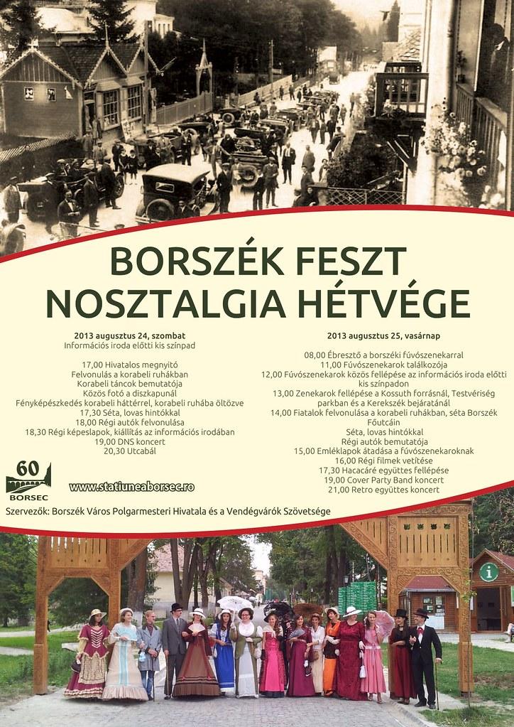 Borszek Feszt_Nosztalgia hetvege