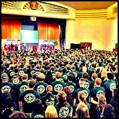 Class of 2017 at Convocation yesterday #tulane #onlyattulane #onlyinneworleans #TUWW13