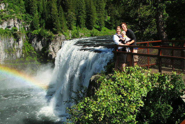 The Family at mesa falls