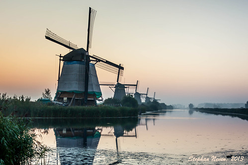 First photo at Kinderdijk    *Explored #14*