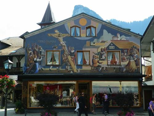 Oberammergau Facade