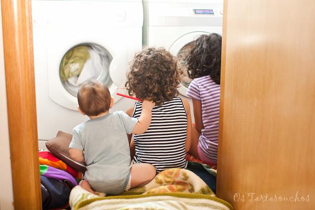 estou na lavadora