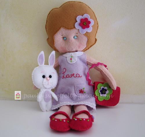 ♥♥♥ Para a Lara... by sweetfelt \ ideias em feltro