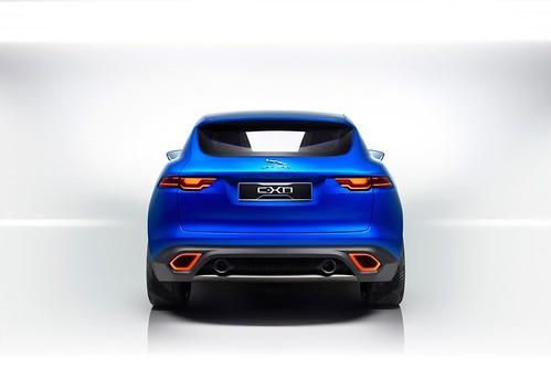Jaguar C X17 Crossover Concept
