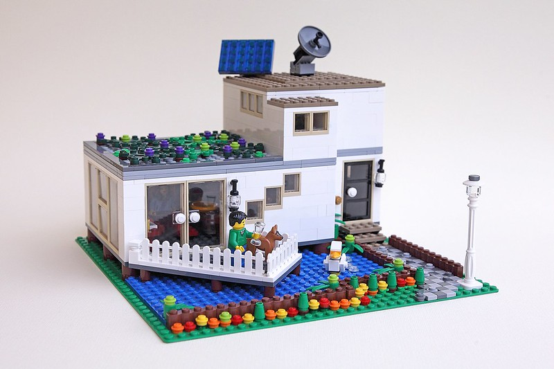 MOC  Creator Modern House   LEGO Town   Eurobricks Forums