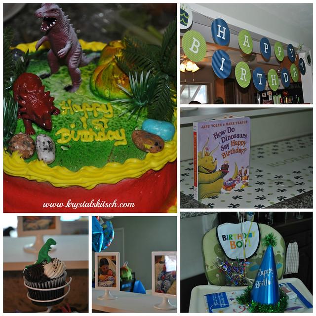 Dinosaur Birthday Setup
