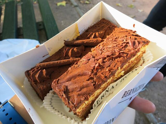Chocolate cakes from Bernachon