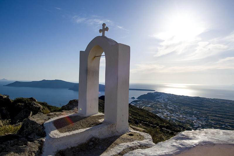 Fira to Oia hike, Santorini Greece