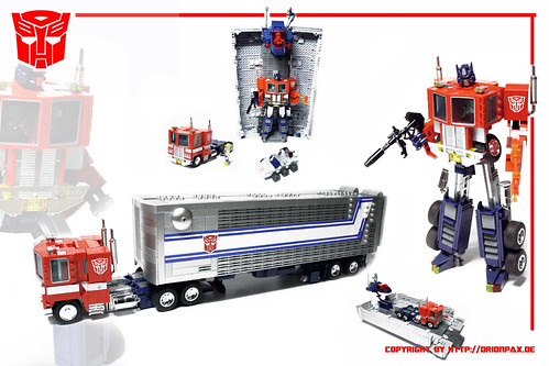 TRANSFORMERS G1 OPTIMUS PRIME REPLICA