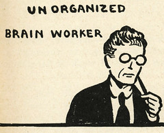 unorganized brain worker