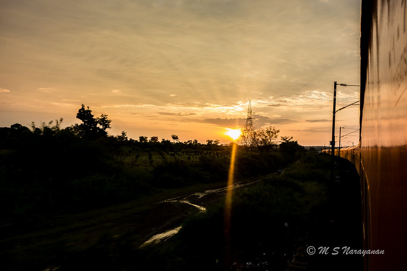 Sunset @ Chichonda - 1 - #Flickr12Days