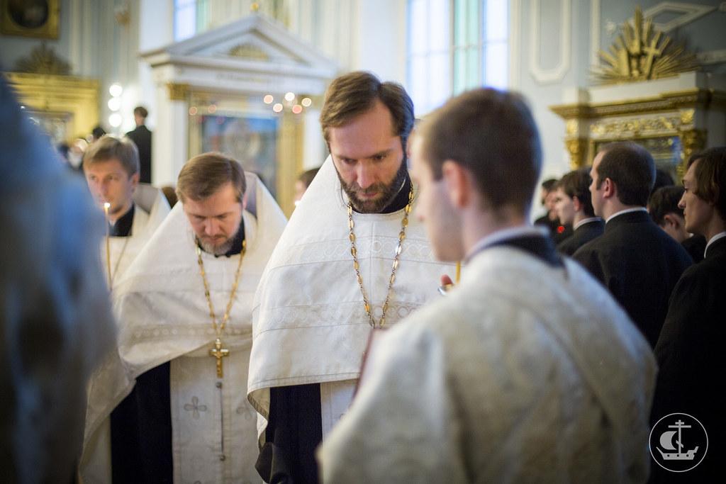 1 ноября 2013, Парастас накануне Димитриевской родительской субботы