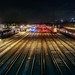 Where trains sleep at Clapham Junction by lomokev