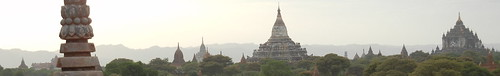 Temples everywhere in Bagan