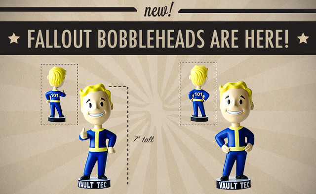 Fallout Vault Boy Bobbleheads