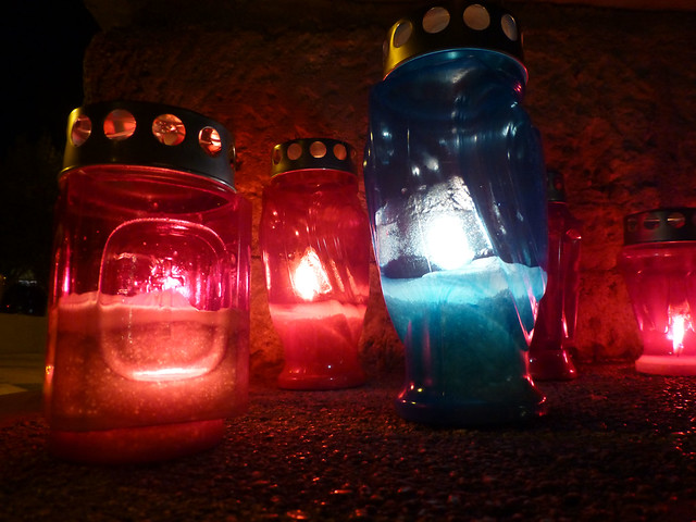Lanterns for departed souls in Croatia