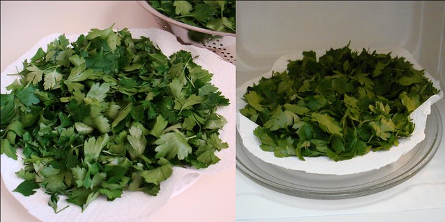 The Parsley project Step 3 & 4