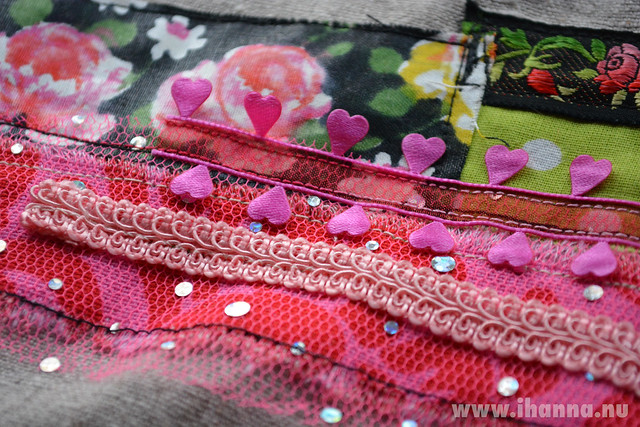 Heart Ribbon and Lace - close up Copyright Hanna Andersson