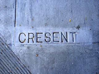 """Cresent"" (Crescent) Avenue at Ellsworth Street"