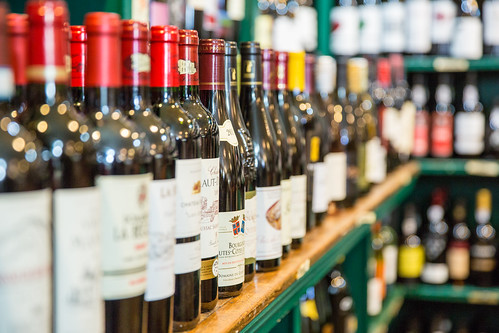 Wine at the Locke Store in Millwood Virginia