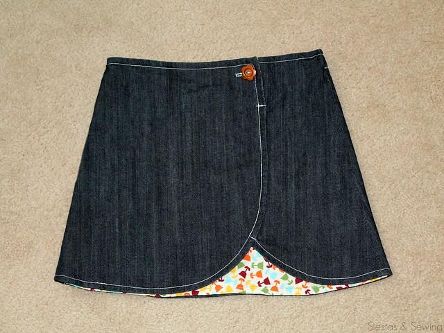 Clever Charlotte Chickadee Skirt