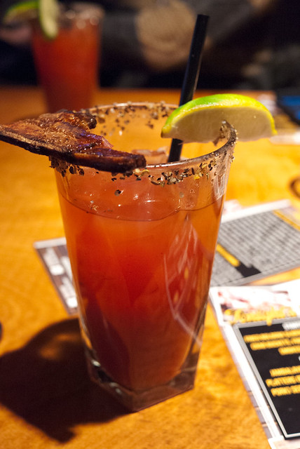 Cajun Caesar @ Bookers BBQ & Crab Shack