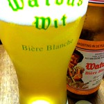 ベルギービール大好き!! ワトウズ・ウィット・ビア  (Watou's Wit Beer)