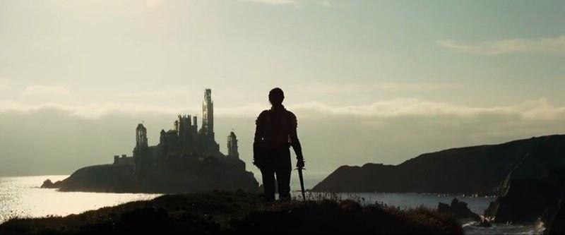 Белоснежка и охотник замок