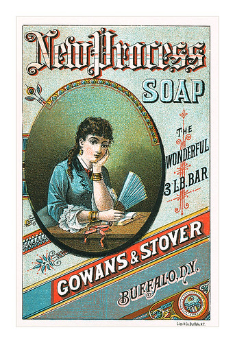 New Process Soap card by totallymystified