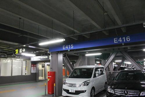 2014/01/02の羽田P3駐車場