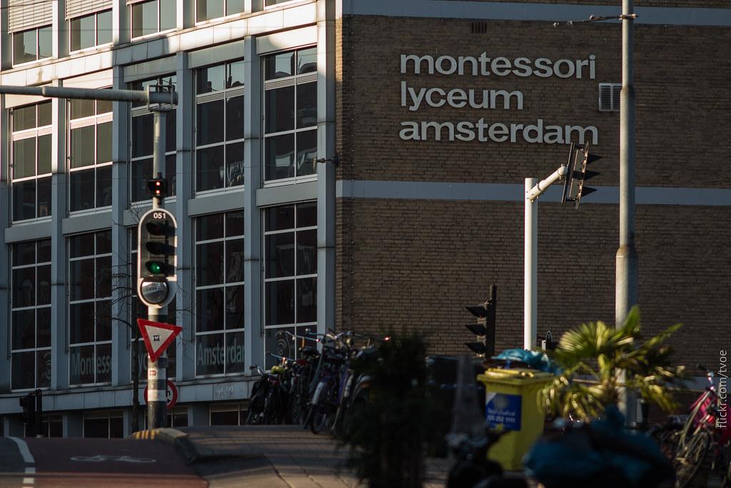 Лицей Монтессори в Амстердаме