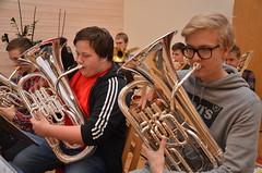SYBB 2014-01-04 - Eufonium - Andreas och Johannes