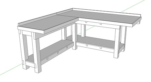Help a newbie learn and design workbench lots of