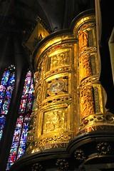 Heinrichskanzel in Aachen Cathedral
