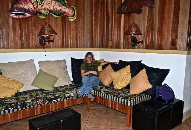 Stock Island, Key West, Florida -  house rental - living room