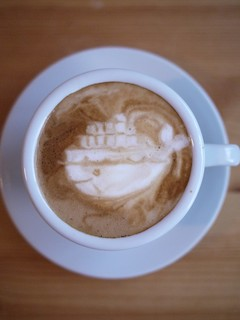 Today's latte, docker. #geeklatte   http://www.docker.io/ | by yukop