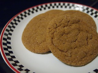 New Food: Chewy Ginger Cookies - 18