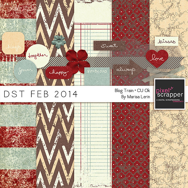 DST February 2014 Blog Train by Marisa Lerin