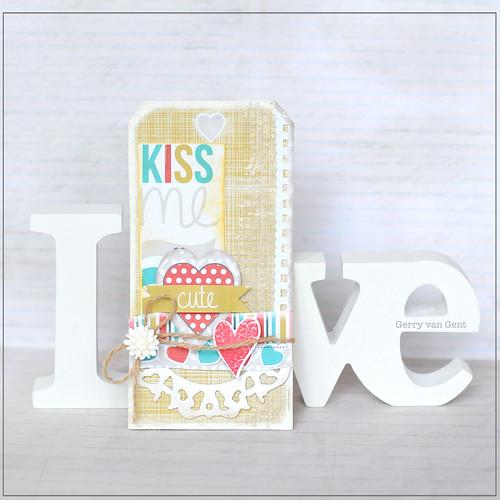 Kiss Me Tag {Sizzix}
