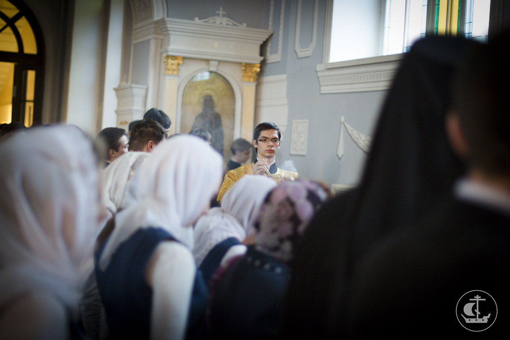 11 февраля 2014, Всенощное бдение накануне дня памяти Собора Трех Святителей / 11 February 2014, Vigil on the eve of the feast of the Synaxis of the Three Hierarchs