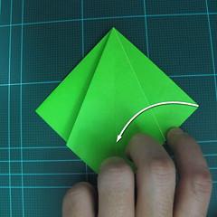 วิธีพับกระดาษเป็นจรวด X-WING สตาร์วอร์ (Origami X-WING) 010