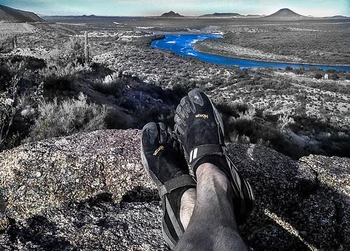 arizona feet river shoes toes toe desert salt az tonto vibram toeshoes trailrunning fivefingers sonoron
