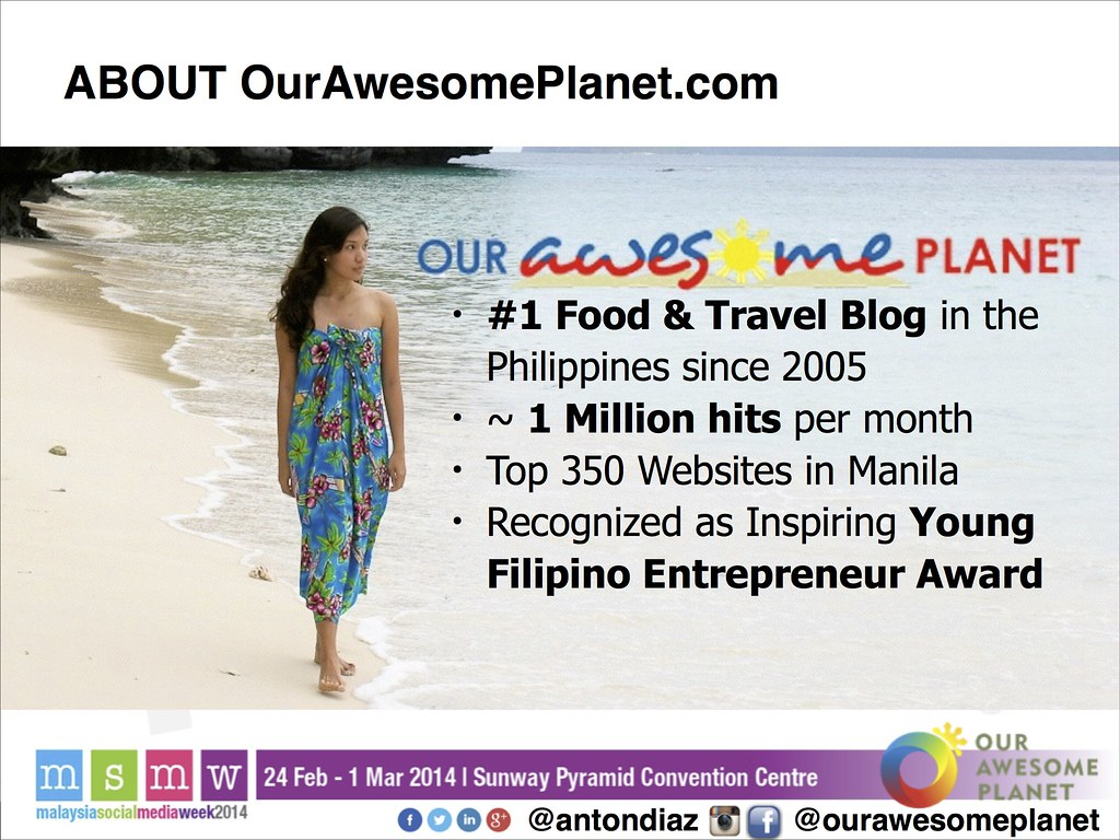 The Road to 1,000,000 Pageviews - The OAP Story MSMW2014 -3
