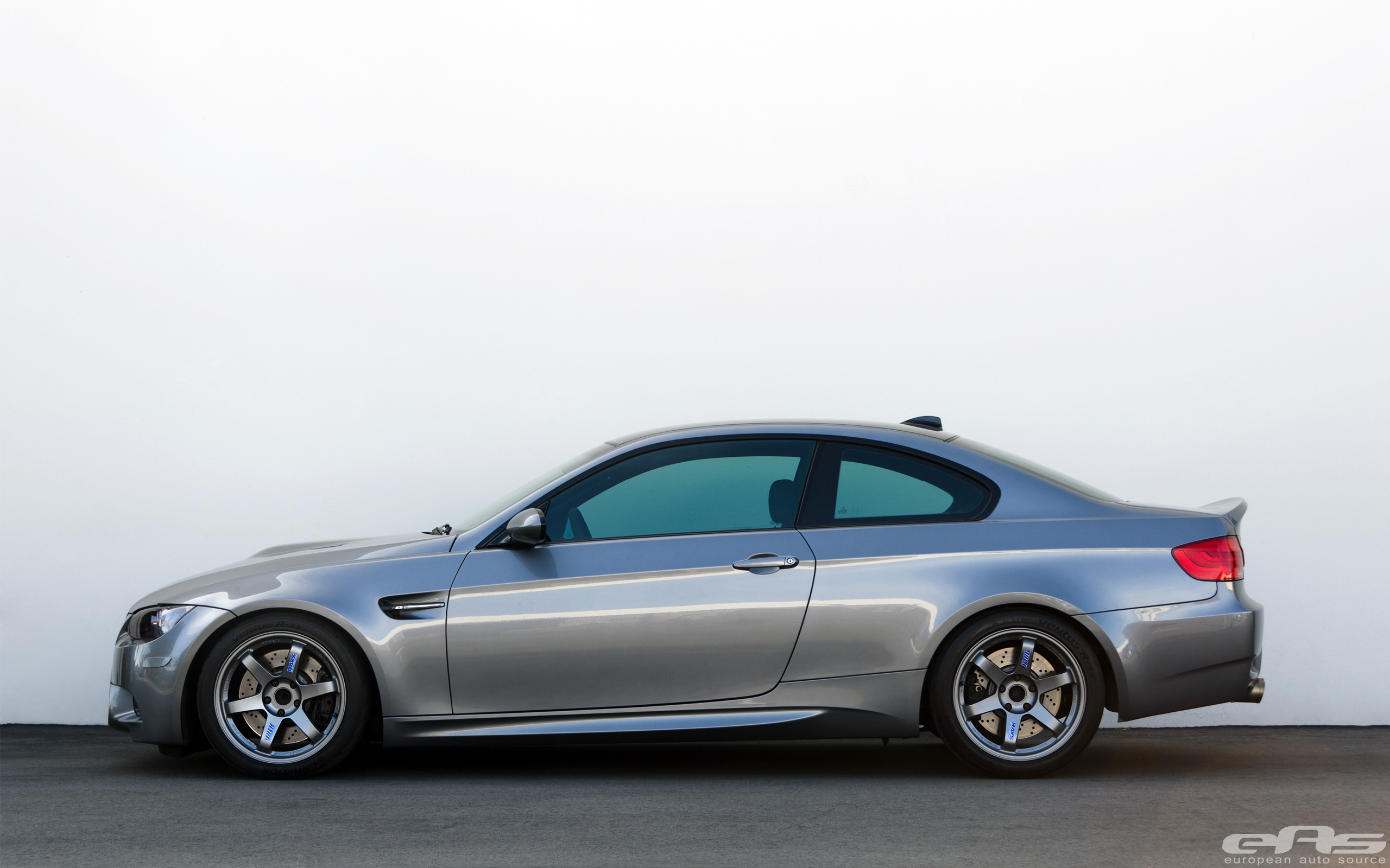 Space Gray E92 M3 On Matte Gray Te37s Bmw Performance