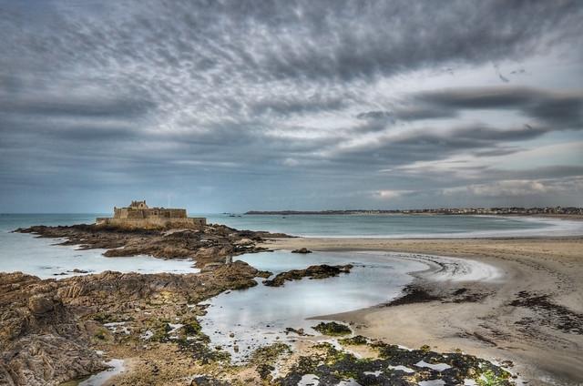 Море, побережье, форт